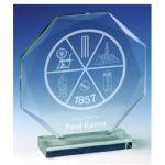 Octagon Glass Award JC030